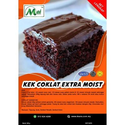 Tepung Kek Coklat Extra Moist -pek lengkap  Halal | Produk Muslim - Mai