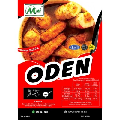 Odeen Powder Viral - Halal Ready To Cook- Produk Mai