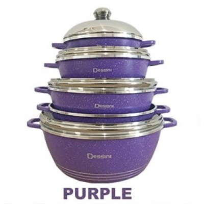 COOKWARE SET 10pcs DESSINI CASSEROLE - 111
