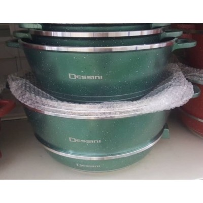 COOKWARE SET 12pcs DESSINI CASSEROLE - 101