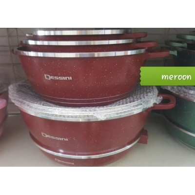COOKWARE SET 12pcs DESSINI CASSEROLE - 102