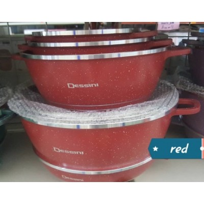 COOKWARE SET 12pcs DESSINI CASSEROLE - 103