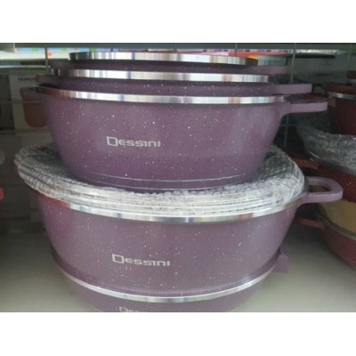 COOKWARE SET 12pcs DESSINI CASSEROLE - 106