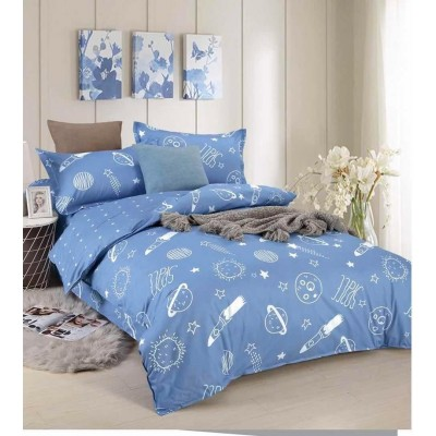 Cadar Comforter 100% Cotton 4 in 1 Bedsheet Super Single - 311