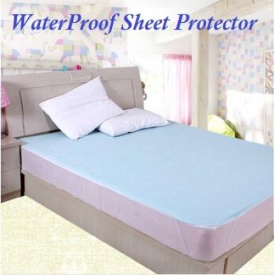Waterproof bed sheet Plain- King