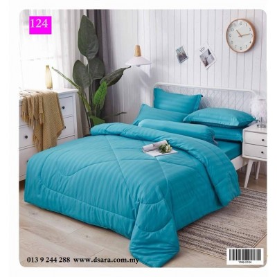 Cadar Hotel Set Comforter 7 in 1 - 124
