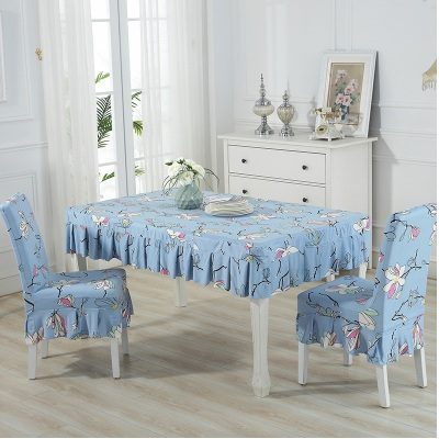 Set alas meja dan sarung kerusi / set chair and table cover (ROPOL) - mk101
