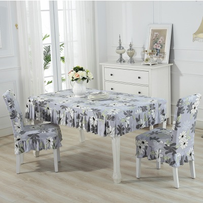 Set alas meja dan sarung kerusi / set chair and table cover (ROPOL) - mk102