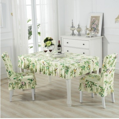 Set alas meja dan sarung kerusi / set chair and table cover (ROPOL) - mk103