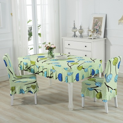 Set alas meja dan sarung kerusi / set chair and table cover (ROPOL) - mk106