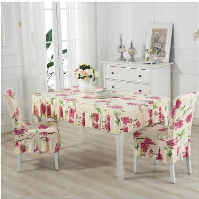 Set alas meja dan sarung kerusi / set chair and table cover (ROPOL) - mk109