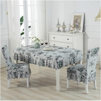 Set alas meja dan sarung kerusi / set chair and table cover (ROPOL) - mk111