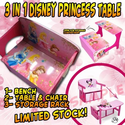 Table & Chair 3 IN 1 Disney